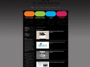 AC Tasarım Stüdyosu Kurumsal Kimlik ve websitesi tasarımı