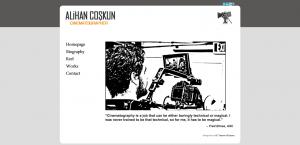 Alihan Coşkun Kişisel Websitesi Tasarımı - Ali Coşkun