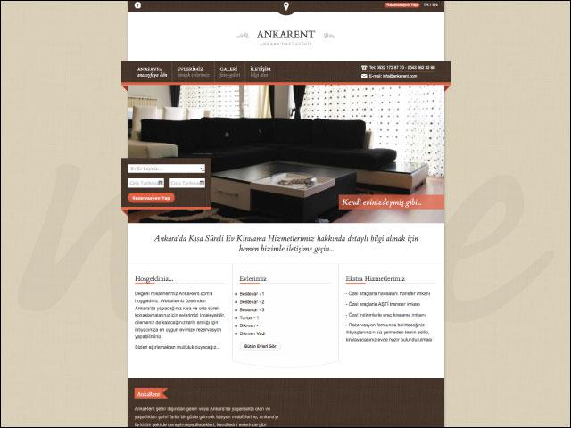 AnkaRent Kiralama Hizmetleri Kurumsal Websitesi Tasarımı