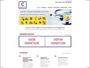 Coşkun OSGB Kurumsal Websitesi Tasarımı