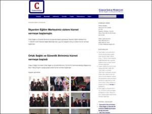 Coşkun Sağlık OSGB Kurumsal Websitesi Tasarımı