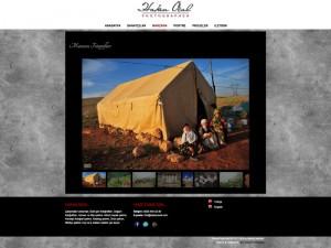 Hakan Öçal Kişisel Websitesi Tasarımı - Ali Coşkun