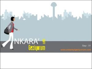 AnkarayıGeziyorum.com Banner Tasarımı - Ali Coşkun
