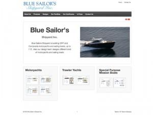 Blue Sailor's Shipyard Kurumsal Websitesi Tasarımı - Ali Coşkun