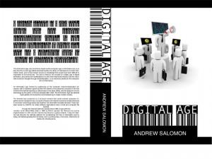 Digital Age Kitap Kapağı Tasarımı