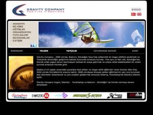 Gravity Company Kurumsal Websitesi Tasarımı - Ali Coşkun