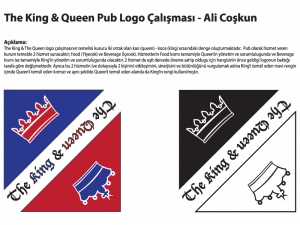 The King & The Queen Logo Tasarımı - Ali Coşkun