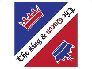 The King & The Queen Pub Logo Tasarımı - Ali Coşkun
