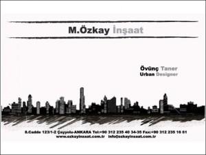 M.Özkay İnşaat Kurumsal Kimlik Tasarımı - Ali Coşkun