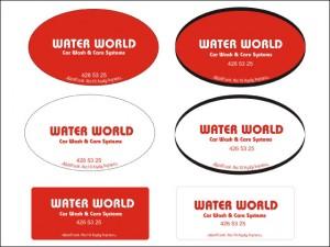 Water World Logo ve Promosyonel Malzemeler Tasarımı - Ali Coşkun