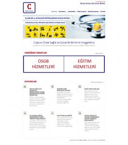 Coşkun OSGB Websitesi Tasarımı