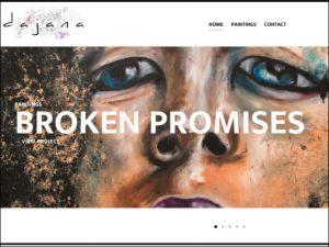 Dajarts Websitesi Tasarımı - Ali Coşkun