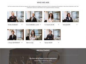 Websitesi Tasarımı - Karako Law Office